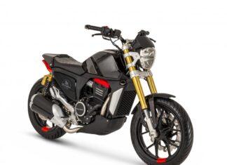 Peugeot P2X Concept motocykl miejski na kategorię A2
