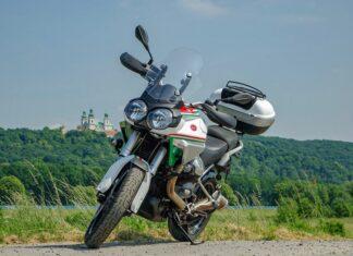 Tadeusz Stelvio NTX turystyczne enduro włoski motocykl turystyczny adventure