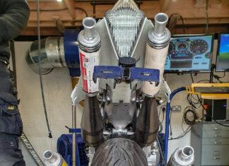 dwusów nietypowe niecodzienne napędy silniki motocykli motocyklowe dziwne silnik hamowania