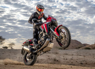 Africa Twin motocykl adventure turystyczne enduro