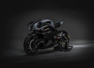 Arc Vector motocykl elektryczny szosowy przyszłości op