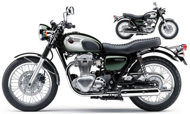 Kawasaki W800 2011 rok