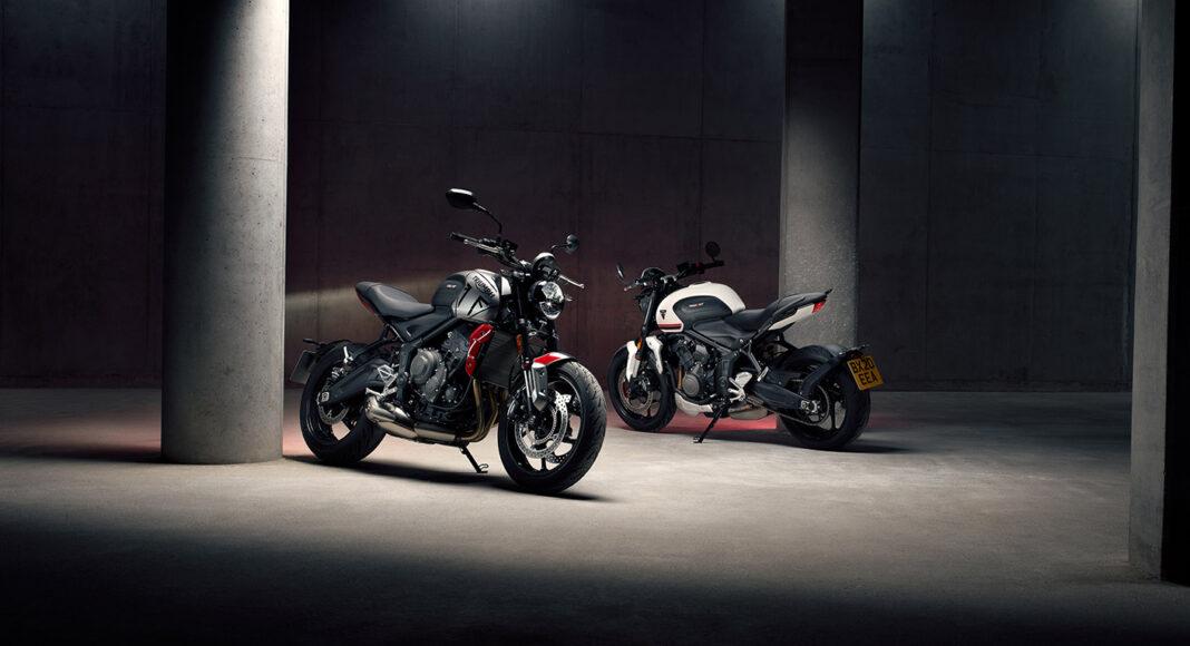 Nowy Triumph Trident motocykl angielski brytyjski klasy  naked miejski neoklasyk silnik zegar wskaźnik prędkościomierz