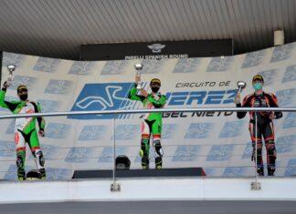 michał budziach budziaszek  jerez hiszpania mistrzostwa hiszpanii andaluzjii supersport  yamaha r scaled