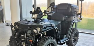 ATV POLARIS 570 X2
