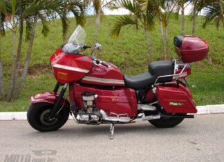 Amazonas  brazylijski motocykl