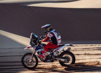 Adam Tomiczek Dakar  wyniki polskich motocyklistów etap