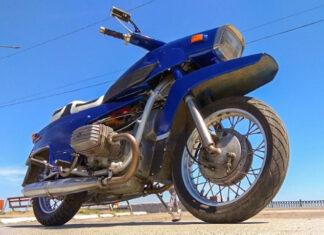 Dniepr  radziecki motocykl bokser eksperymentalny prototypowy zabytkowy rosyjski