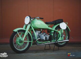 M  radziecki rosyjski motocykl sportowy zabytkowy weteran klasyczny M    scaled