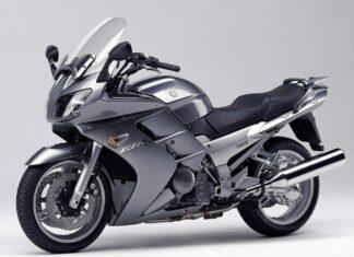 Yamaha FJR  silver euro