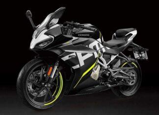 cfmoto sr a nowy model sportowy motocykl