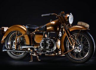 Brugh Superior Golden Dream brytyjski angielski motocykl zabytkowy weteran kultowy  scaled