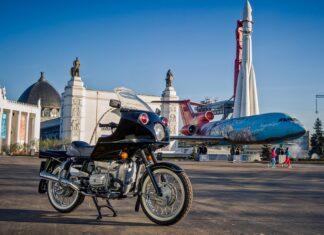 Dniepr Eksort radziecki rosyjski motocykl wojskowy policyjny zabytkowy weteran