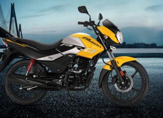 Hero passion Pro motocykl indyjski miejski tani na kategorię A