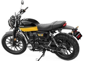 Honda CBRS  motocykl miejski tani do miasta dkd