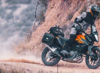 KTM  motocykl adventure turystyczny mały miejski