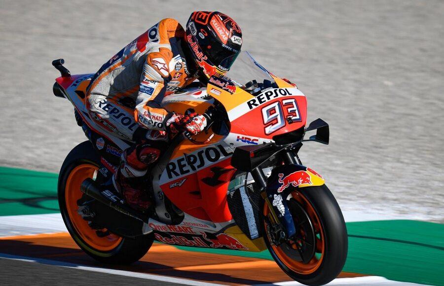 Marc Marquez motocykl sportowy wyścigowy superbike honda sportowa