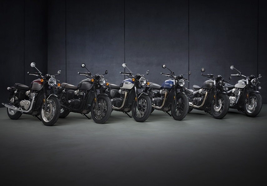 Triumph Bonneville 2021 dane techniczne zmiany cena
