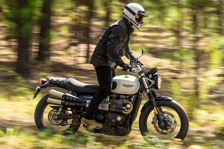 Triumph Scrambler Sandstorm nowy model motocykl nowość euro  terenowy miejski brytyjski angielski