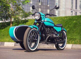 Ural Bobber radziecki rosyjski motocykl z koszem sportowy