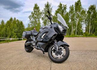 Aurus nowy rosyjski motocykl elektryczny wojskowy policyjny  scaled