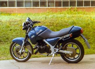 Iż Orion Syriusz Sprinter radziecki rosyjski motocykl z silnikiem Yamaha