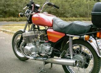 Jawa  cylindrów motocykl czeski eksperymentalny sportowy sześciocylindrowy