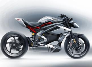 triumph te  motocykl elektryczny
