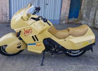 Iż Lider radziecki rosyjski motocykl policyjny eskortowy milicyjny