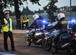 policja motocykle honda cbf mundurowi