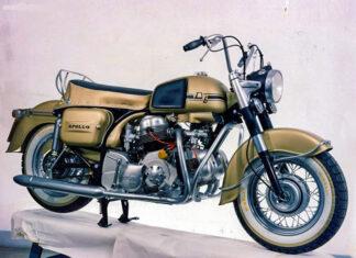 Ducati Apollo  włoski motocykl policyjny turystyczny szybki