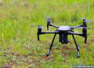 dron policyjny policja kielce świętkorzyskie
