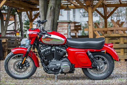 Nowa Jawa z silnikiem Harleya o pojemności 883 cm3?