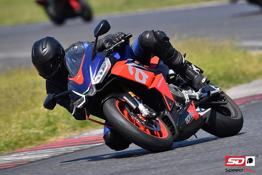 Speed Day Tor Poznań Aprilia RSV RS  Hubert