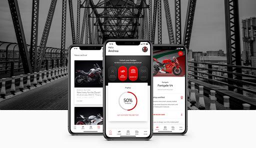 ducati aplikacja my ducati app