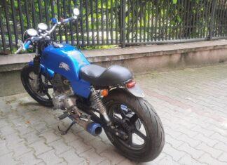 motocykl skradziony odzyskany praga północ
