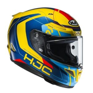 Kask HJC R PHA  CHAKRI blue yellow MV DuzeZdjecie W