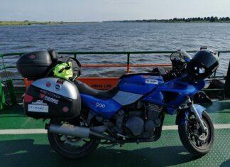 Motocyklem dookoła Polski gdzie jak trasa ślad którędy najbliżej granic