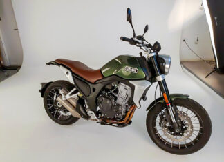 Nowa Jawa Scrambler motocykl czeski