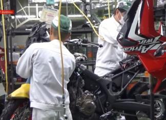 honda africa twin proces budowy motocykla fabryka