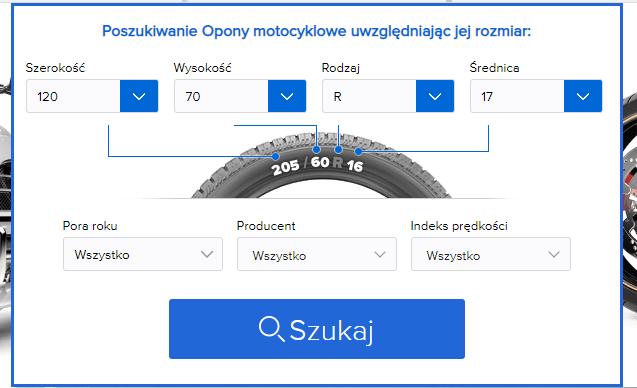 Opony do motocykla – oznaczenia, indeks prędkości, rozmiary