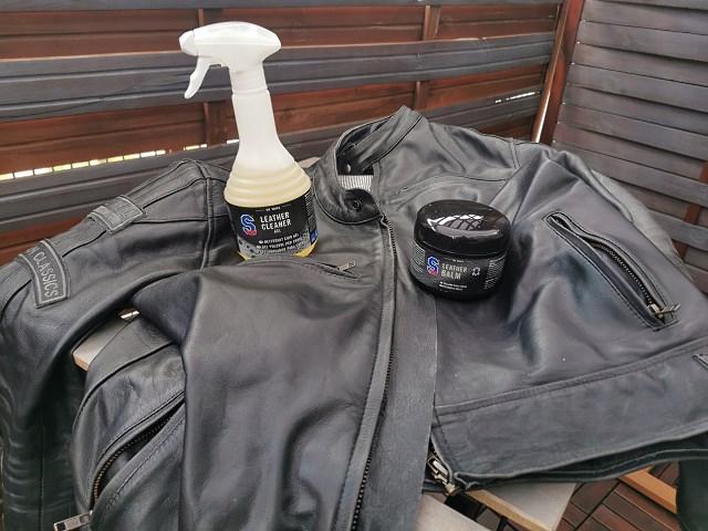 Jak czyścić, zmiękczyć, pielęgnować i dbać o skórzaną kurtkę motocyklową [TEST akcesoriów S100]