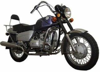 Dniepr chopper motocykl radziecki rosyjski bokser