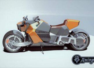 Elektryczny Dniepr motocykl radziecki z koszem wózkiem bocznym