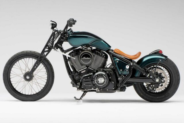 Niezwykły custom na bazie Indian Chief Bobber Dark Horse