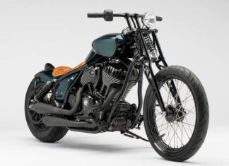 Indian custom chief motocykl customowy