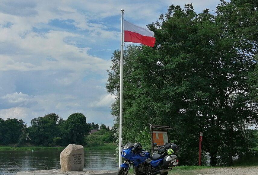 Motocyklem dookoła polski wzdłuż jej granic trasa ślad