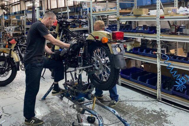 Nowe motocykle Ural – zgodne z Euro5