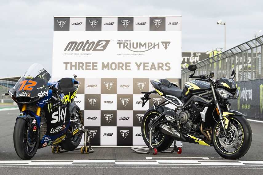 Triumph w Moto na kolejne  lata