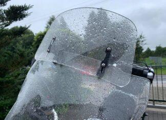 deflektor motocyklowy gs deszcz